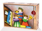 Çocuk Trio (Sürpriz Parçalı) Ahşap Puzzle 2000 Parça (CK55-MM)