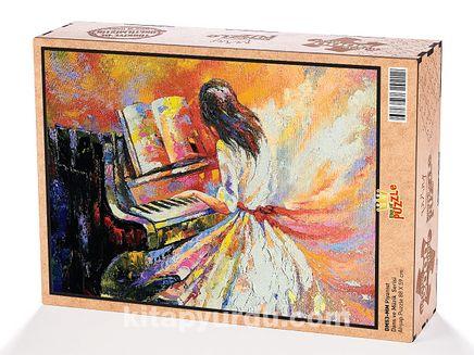 Piyanist Ahşap Puzzle 2000 Parça (DM53-MM)