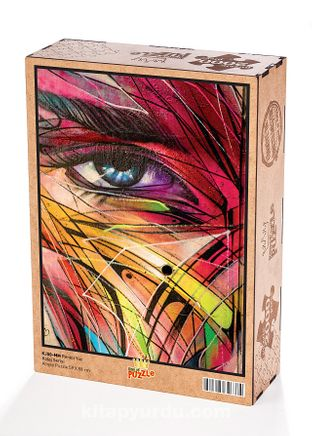 Renkli Yüz Ahşap Puzzle 2000 Parça (KJ50-MM)