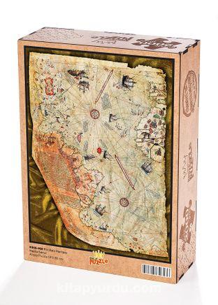 Piri Reis Haritası Ahşap Puzzle 2000 Parça (HR50-MM)