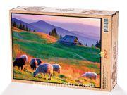 Günbatımı ve Koyunlar Ahşap Puzzle 2000 Parça (HV55-MM)