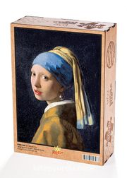 İnci Küpeli Kız /Johannes Vermeer Ahşap Puzzle 2000 Parça (KR50-MM)