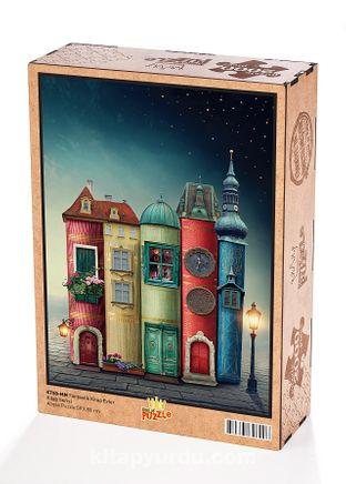 Fantastik Kitap Evler Ahşap Puzzle 2000 Parça (KT50-MM)