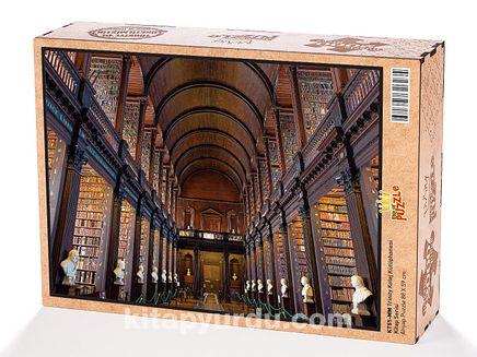 Trinity Kolej Kütüphanesi Ahşap Puzzle 2000 Parça (KT51-MM)