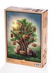 Kitap Ağacı Ahşap Puzzle 2000 Parça (KT55-MM)
