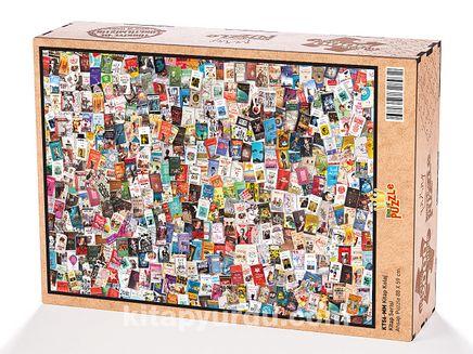 Kitap Kolaj Ahşap Puzzle 2000 Parça (KT56-MM)