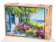 Mavi Pencere Ahşap Puzzle 2000 Parça (MZ56-MM)