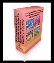 3-6 Yaş Okul Öncesi Çocuklar İçin Zeka ve Dikkat Geliştiren Oyunlar ( 4 Kitap Set)