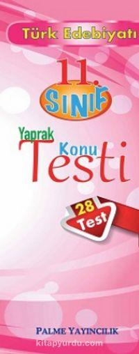 11.Sınıf Türk Edebiyatı Yaprak Konu Testi (28 Test) - Kollektif pdf epub