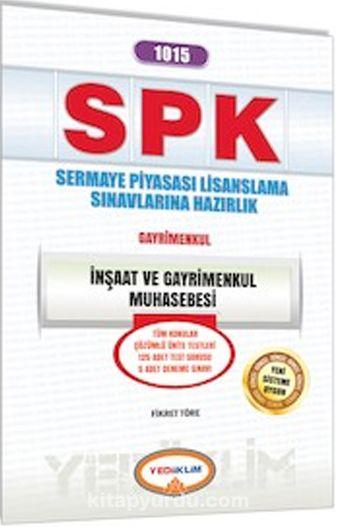 SPK 1015 İnşaat ve Gayrimenkul Muhasebesi - Kollektif pdf epub
