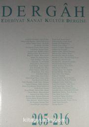 Dergah Edebiyat Sanat Kültür Dergisi 205-216