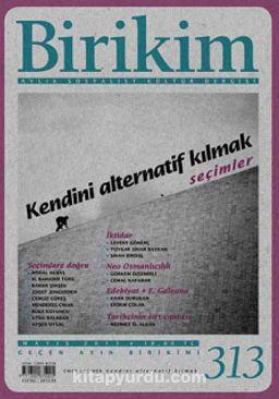Birikim / Sayı:313 Mayıs Yıl:2015 / Aylık Sosyalist Kültür Dergisi