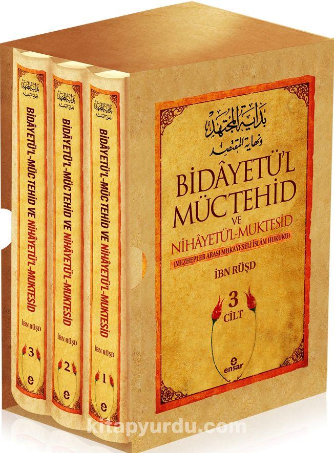 Bidayetü'l-Müctehid ve Nihayetü'l Muktesid (3 Cilt)Mezhepler Arası Mukayeseli İslam Hukuku - İbn Rüşd pdf epub