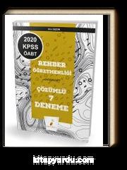 2020 KPSS ÖABT Rehber Öğretmenliği 7 Çözümlü Deneme