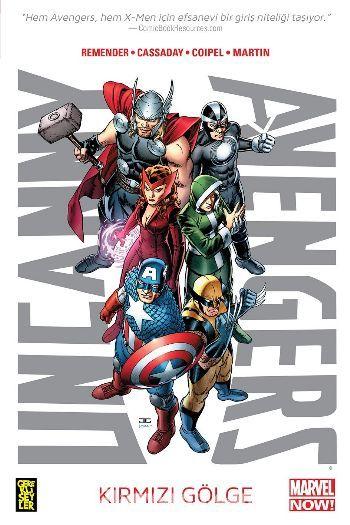 Uncanny Avengers 1 - Kırmızı Gölge 1. Cilt - Rick Remender pdf epub