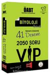 ÖABT Değişim Serisi VIP Biyoloji Öğretmenliği Tamamı Çözümlü 41 Deneme