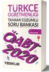 2020 KPSS ÖABT Türkçe Öğretmenliği Tamamı Çözümlü Soru Bankası