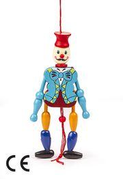 Montessori Ahşap Zeka Oyunları / w-Wooden Clown (Palyaço)