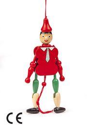 Montessori Ahşap Zeka Oyunları / w-Wooden  Pinocchio (Pinokyo)