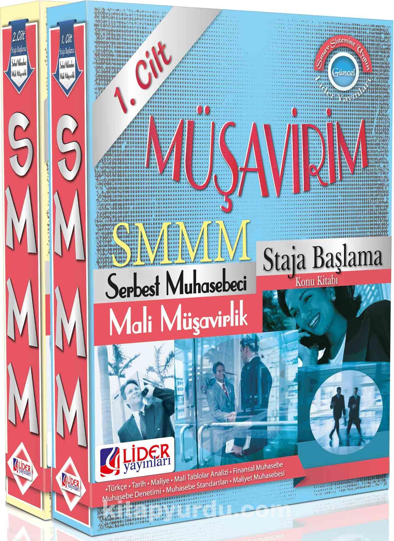 SMMM Staja Başlama Konu Kitabı (2 Kitap Takım)