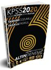 2020 KPSS Genel Yetenek Genel Kültür 6 Altın Çözümlü Fasikül Deneme