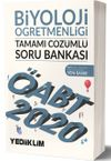 2020 KPSS ÖABT Biyoloji Öğretmenliği Tamamı Çözümlü Soru Bankası
