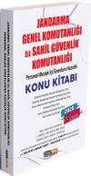 2020 Jandarma Genel Komutanlığı ile Sahil Güvenlik Komutanlığı Personel Meslek İçi Sınavlara Hazırlık Konu Kitabı