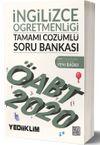 2020 KPSS ÖABT İngilizce Öğretmenliği Tamamı Çözümlü Soru Bankası