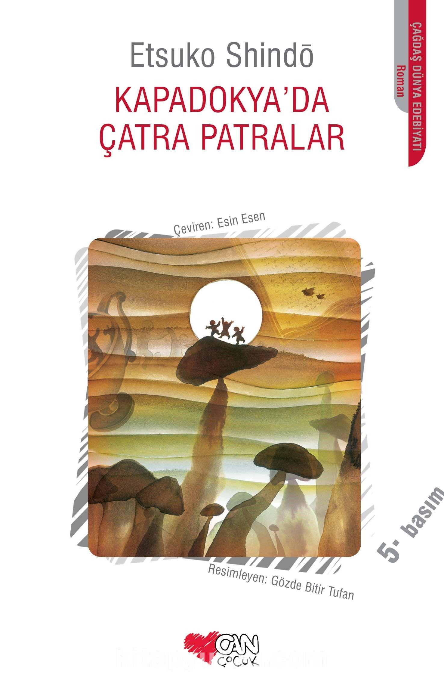 Kapadokya'da Çatra Patralar - Etsuko Shindö pdf epub