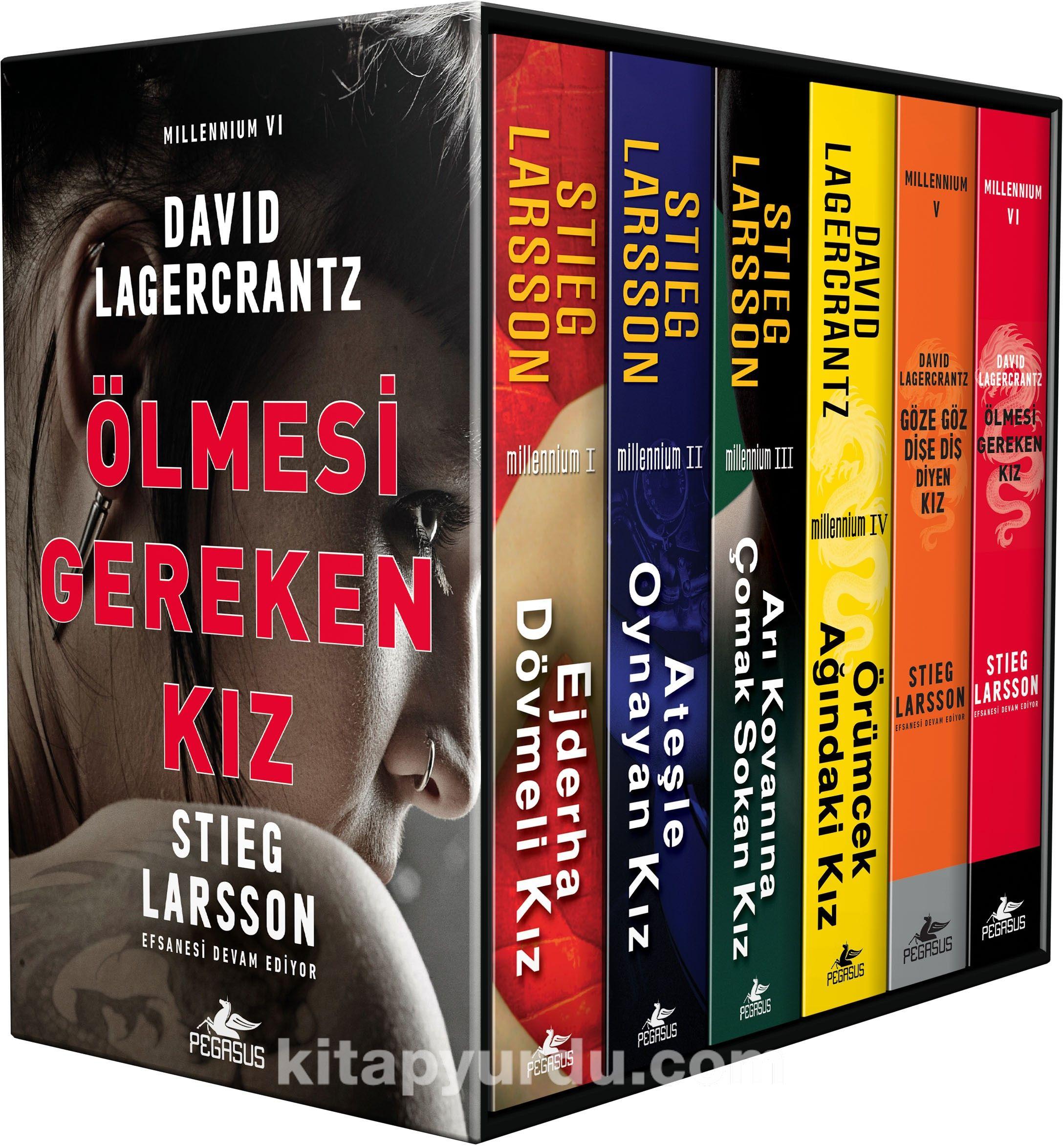 Millennium Serisi - Kutulu Özel Set (6 Kitap) - Stieg Larsson pdf epub