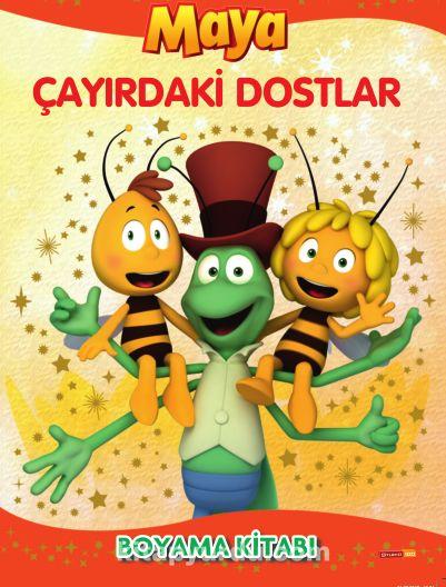 Arı Maya Çayırdaki Dostlar Boyama Kitabı - Kollektif pdf epub