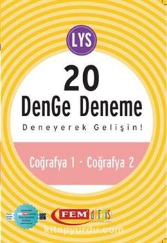 Simetrik LYS 20 Denge Deneme - Coğrafya 1 - Coğrafya 2