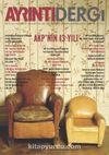 Ayrıntı İki Aylık Sosyalist Siyaset ve Kültür Dergisi Sayı:10 Mayıs-Haziran 2015