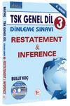TSK Genel Dil Dinleme Sınavı 3 / Restatement-Inference