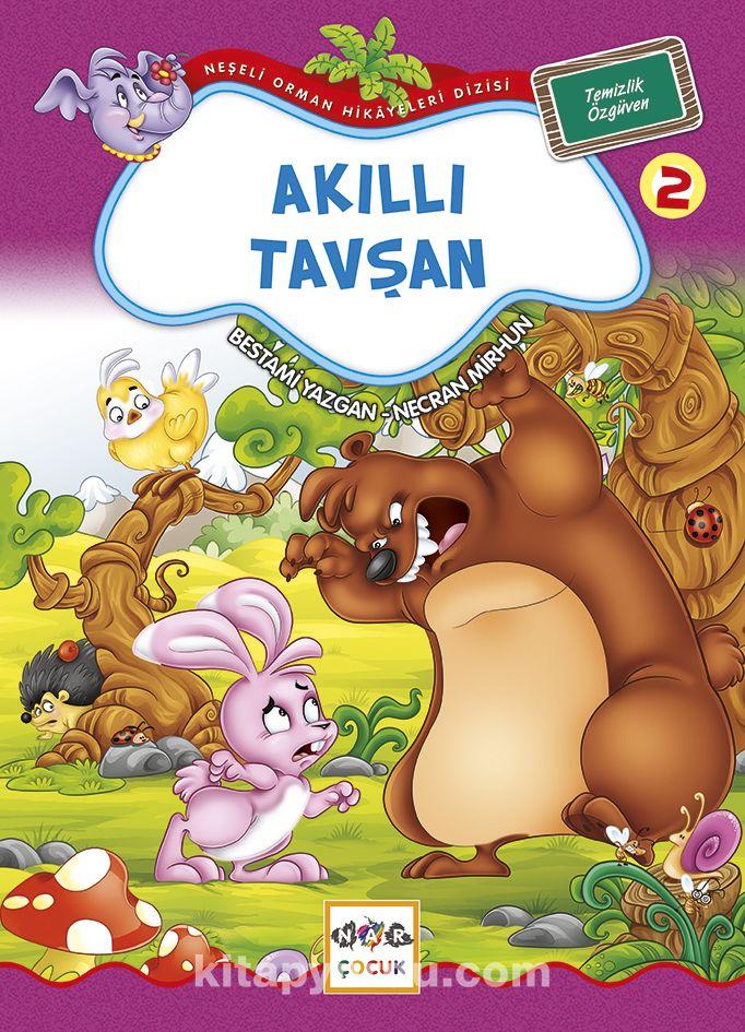 Akıllı Tavşan / Neşeli Orman Hikayeleri (Büyük Boy) - Bestami Yazgan pdf epub
