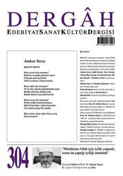Dergah Edebiyat Sanat Kültür Dergisi Sayı:304 Haziran 2015