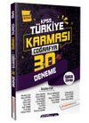 2020 KPSS Coğrafya 30 Deneme Türkiye Karması (Tamamı Çözümlü)