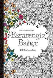 Esrarengiz Bahçe (20 Kartpostal)
