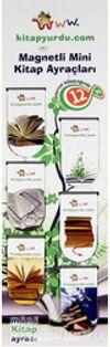 Magnetli Mini Kitap Ayraçları / Kitap Temalı