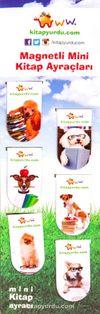 Magnetli Mini Kitap Ayraçları / Köpek Temalı