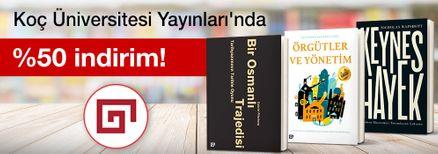 Koç Üniversitesi Yayınları'nda  %50 indirim!