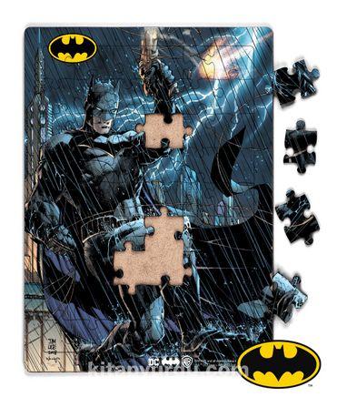 Batman - Thunderstorm Dark Night Ahşap Puzzle 54 Parça(KOP-BT008 - LIV) Lisanslı Ürün