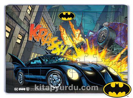 Batman - Batmobile Krassh  Ahşap Puzzle 54 Parça (KOP-BT036 - LIV) Lisanslı Ürün