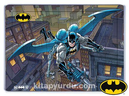 Batman - Bat - Glider  Ahşap Puzzle 54 Parça (KOP-BT038 - LIV) Lisanslı Ürün