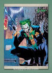 Full Frame Kanvas Poster Magnetli - Joker - Bang Gun (FF-JK008) Lisanslı Ürün
