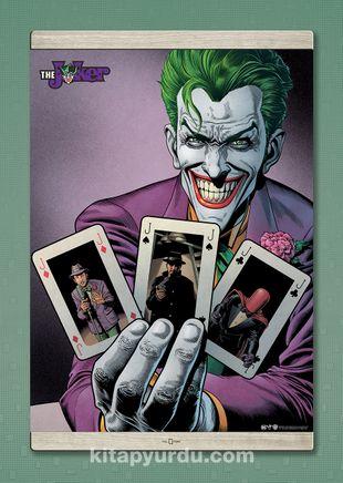 Full Frame Kanvas Poster Magnetli Joker - Joker Cards (FF-JK009) Lisanslı Ürün