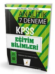 2020 KPSS Eğitim Bilimleri Analitik Dijital Çözümlü 7 Deneme Sınavı