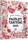 2020 Fazilet Takvimi 1. Bölge Ciltli Takvim (2.Hamur) (14x18)