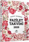 2020 Fazilet Takvimi Yurtiçi 4. Bölge Ciltli Takvim-2.hamur (10x14)