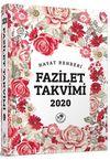 2020 Fazilet Takvimi Yurtiçi 5. Bölge Ciltli Takvim (10x14)
